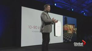 Tesla unveils electric batteries to power homes
