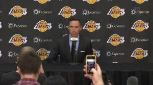 Steve Nash thanks Lakers organization 'regardless of the disappointment'
