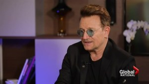 Bono a huge fan of Canada says Canadians don't know how important country is