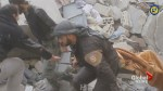 White Helmets pull victims from rubble, morning after winning Oscar