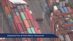 Port of Vancouver fire: First responders
