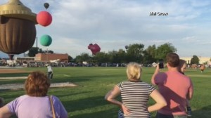RAW: Pig-shaped hot air balloon crashes in Utah
