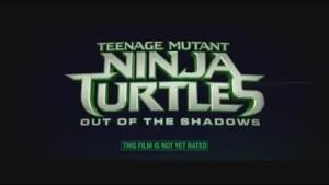 Trailer for TMNT 2