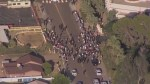 RAW: Anti-Muslim protest forms outside Phoenix mosque