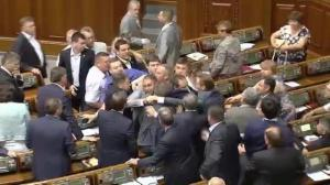 More fisticuffs erupt in Ukrainian Parliament
