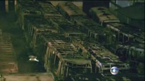 Raw video: Over a dozen buses set on fire overnight in Sao Paulo, Brazil