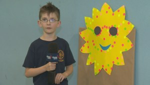 Roslyn students tell us the weather