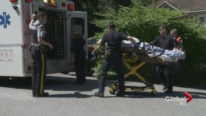 Woman rescued from Surrey ravine