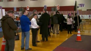 Voters starting to cast ballots in New Hampshire primary