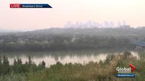 Air quality continues to worsen in Edmonton