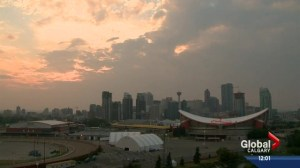Smoky skies causing problems for Calgarians