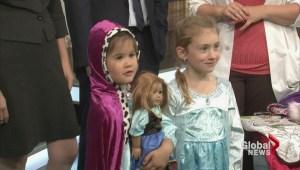 Halloween costume fashion show