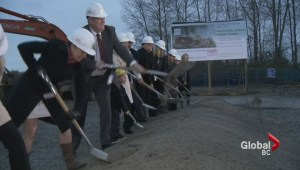 Ground breaking day for Pacific Autism Family Centre
