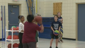 Best Buddies fundraiser pits MLA against middle schoolers for b-ball glory