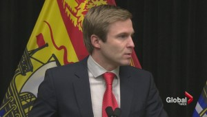 Questions about politics and paving dog Premier Gallant