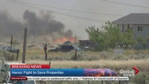 Ashcroft Reserve fire devastation and heroism