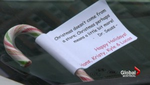 Montreal area family planning random acts of kindness