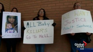 16-year-old girl pleads guilty in killing of 6-week-old baby in Saskatoon