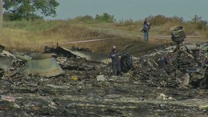Breakthrough in access to Flight MH17 crash scene