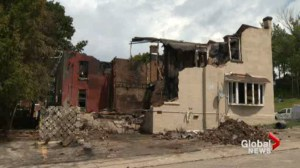 Arson spree leaves families homeless in Owen Sound