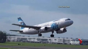 Automated messages from Egypt Air indicated smoke in cabin