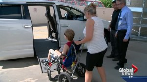 Superstore employees raise money for wheelchair accessible van for family