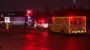 Woman hospitalized in Montreal after being hit by train