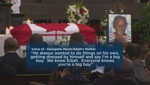 Elijah Marsh funeral draws hundreds of mourners