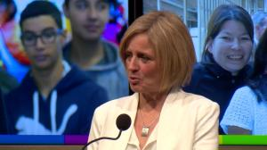 State of Alberta: Rachel Notley speaks to Alberta's education