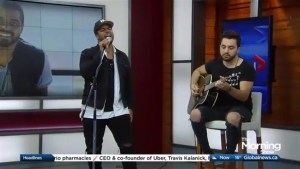 JoJo Mason performs 'Something to Wrap My Heart Around' on The Morning Show