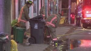 Police investigate garbage bin fires in Dundas West