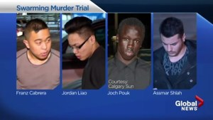Trail begins for accused in swarming death of Calgary man