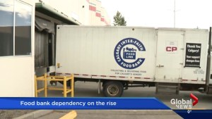 Alberta food banks see a huge jump in traffic