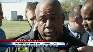 Wichita fire chief on airport plane crash