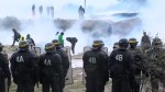 Video shows clashes outside France's Calais migrant camp