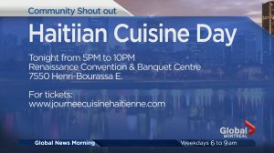 Community Events: Haitian Cuisine Day
