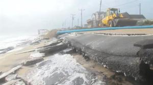 Flooding once again washes out North Carolina highway