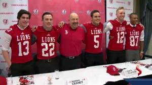 5 Alberta football prospects sign with York University Lions in Toronto