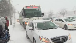 Snow squall slams GTA, snarls rush hour traffic