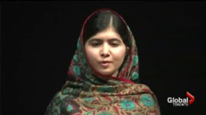 Malala Yousafzai is the co-winner of the Nobel Peace prize