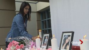 Candlelight vigil held for Kiran Dhesi