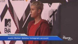 Bieber out: Popstar shuts down Instagram account