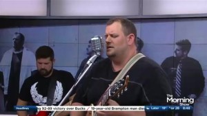 I'm of Vintage performs on The Morning Show