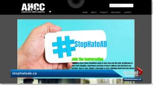 #StopHateAB website tracks hate-related incidents in Alberta