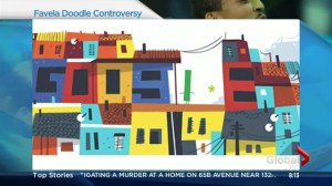 Complaints over Google favela doodle