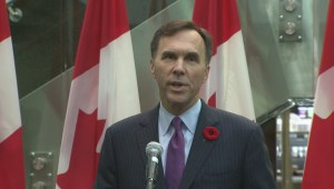 Bill Morneau says budget update coming before year's end