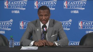 Dwane Casey after playoff elimination: 'It was a tremendous learning experience for us'