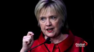 Hillary Clinton resurfaces, speaks out against Trump