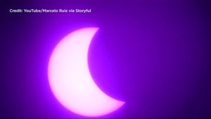 'Ring of Fire' solar eclipse delights onlookers in South America