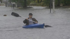 Tropical Storm Colin causing flooding in Florida